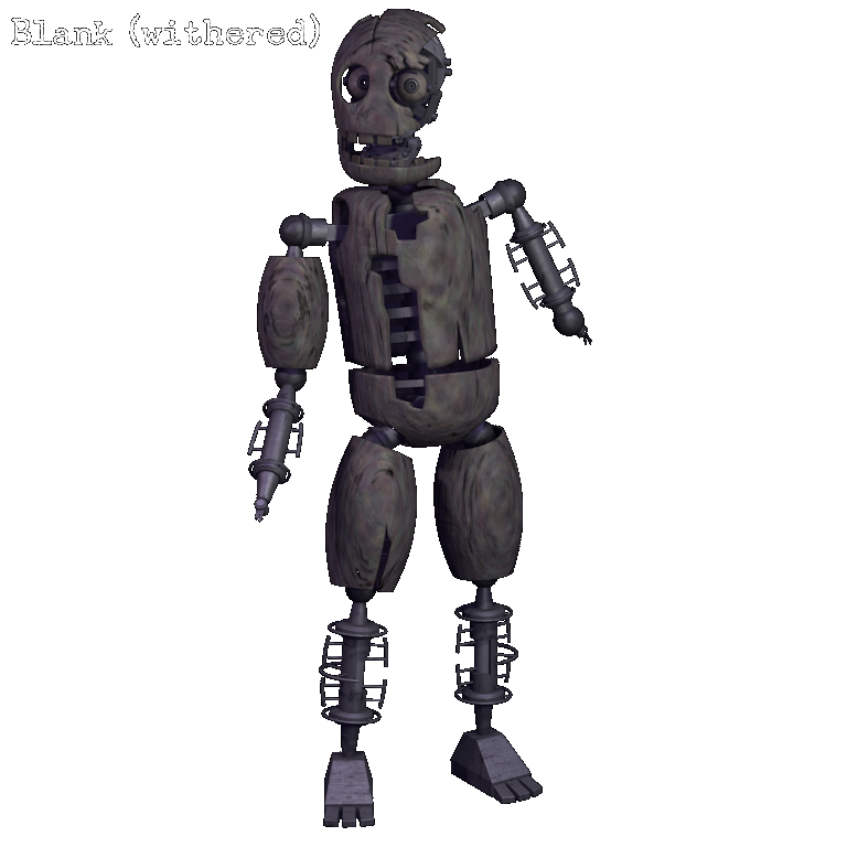 withered blank five nights at candy s wikia fandom powered by wikia