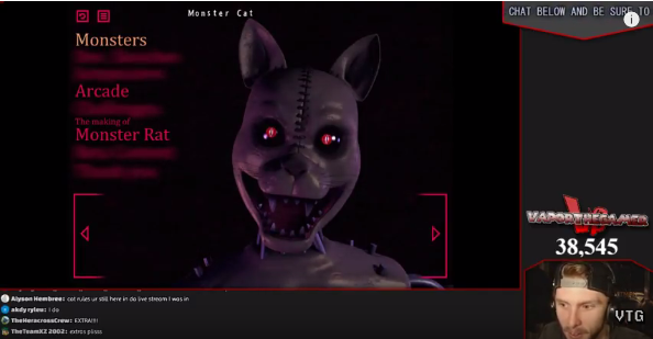 image monster cat extra png five nights at candy s wikia