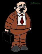 Animatronic,Senior barriga.Extrás