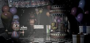 Game Area Balloon Boy Toy Freddy