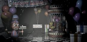 Game Area Balloon Boy Lights
