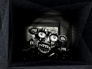 Left Air Vent Endoskeleton