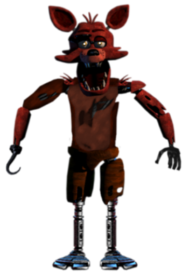 image foxy fnaf1 full body png five nights at freddy s