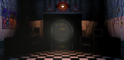 Golden Freddy Down The Hall