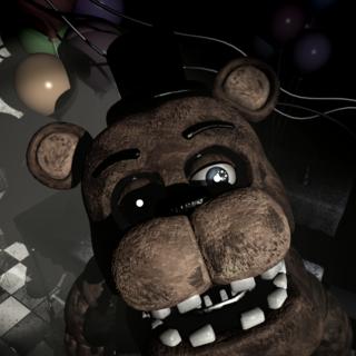 <b>Freddy </b>en <b>La Sala de Fiestas 3</b>, posicionado en frente de la cámara