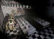 Toy Chica en el salon de fiestas