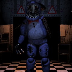 <b>Bonnie</b> apunto de atacar al jugador
