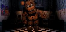 Freddy Fazbear en la Oficina