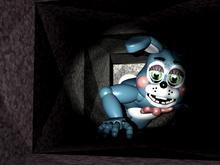 Toy Bonnie en la ventilación derecha