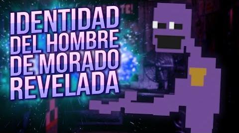 LA HISTORIA DE FIVE NIGHTS AT FREDDY'S SISTER LOCATION- IDENTIDAD DEL HOMBRE MORADO REVELADA