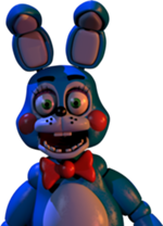Toy Bonnie in the office