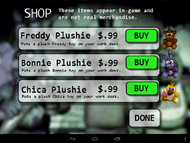 Android version - Peluches de los animatronics