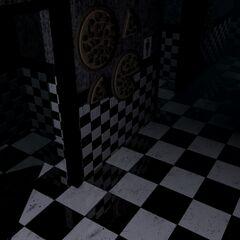 <b>Freddy</b> en el Baño de mujeres