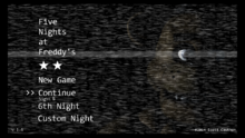 Sexta Noche completada