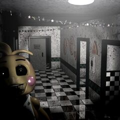 <b>Toy Chica</b> en la sala principal