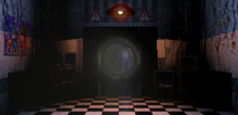 Bonnie en el pasillo