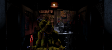 Golden Freddy en la Oficina