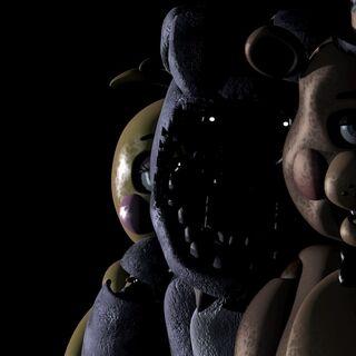 <b>Bonnie</b>, <b>Toy Chica</b> y <b>Toy Freddy</b> en el Menú principal