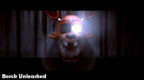 Five Nights at Freddy's- Foxy The Pirate Lamp