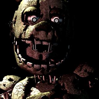 Primera de las Tres imágenes de SpringTrap que revelan un oscuro secreto...