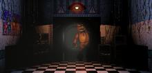 Toy Freddy a punto de entrar a la oficina