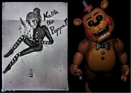 Nalita the puppet vs Toy Freddy