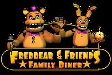 Fredbear s family diner logo v2 by lazerfacechaser-db3zmxz