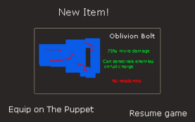 Oblivion Bolt Drop