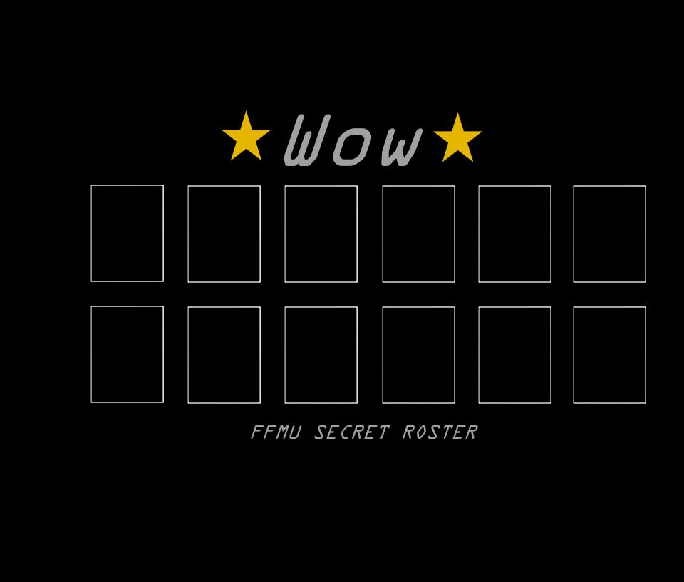 User Blog 0luap2003 Secret Roster Poster Ffmu Five Nights At