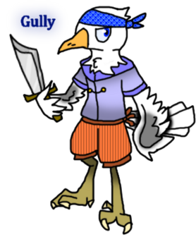 Gully the seagull