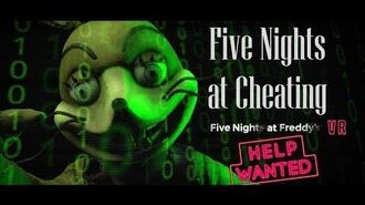 SFM FNAF Cheating And Hacking In Five Night's At Freddy's Help Wanted VR