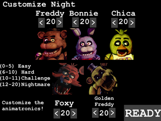 Custom night lll