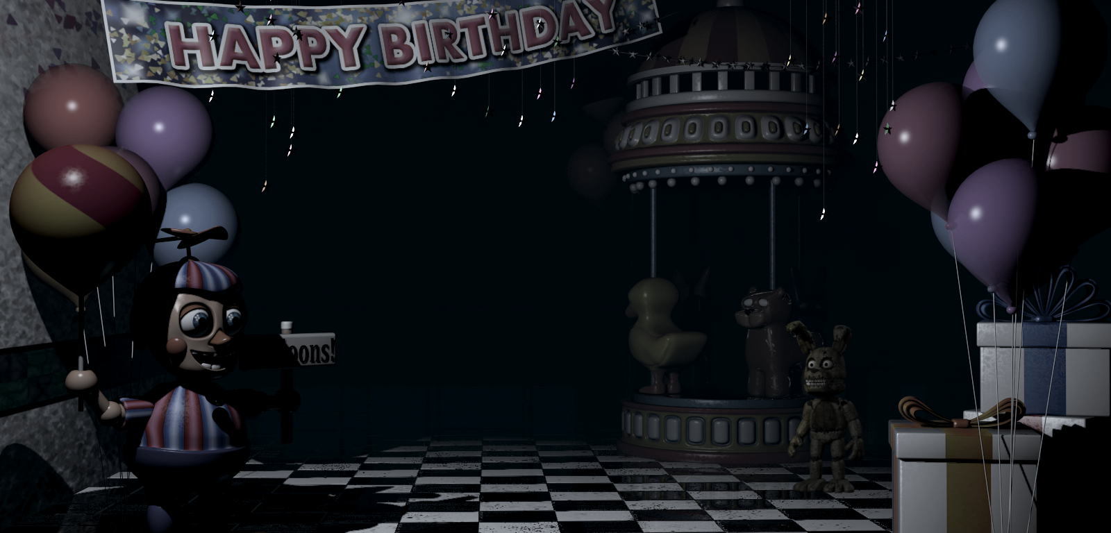 Image Plushtrap Game Area Off Png Five Nights At