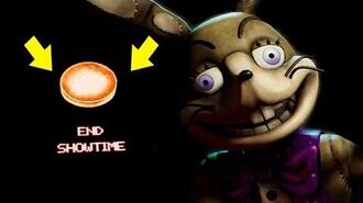 DO NOT HACK OUTSIDE THE MAP! SECRET END SHOWTIME BUTTON! Five Nights At Freddy's VR Help Wanted