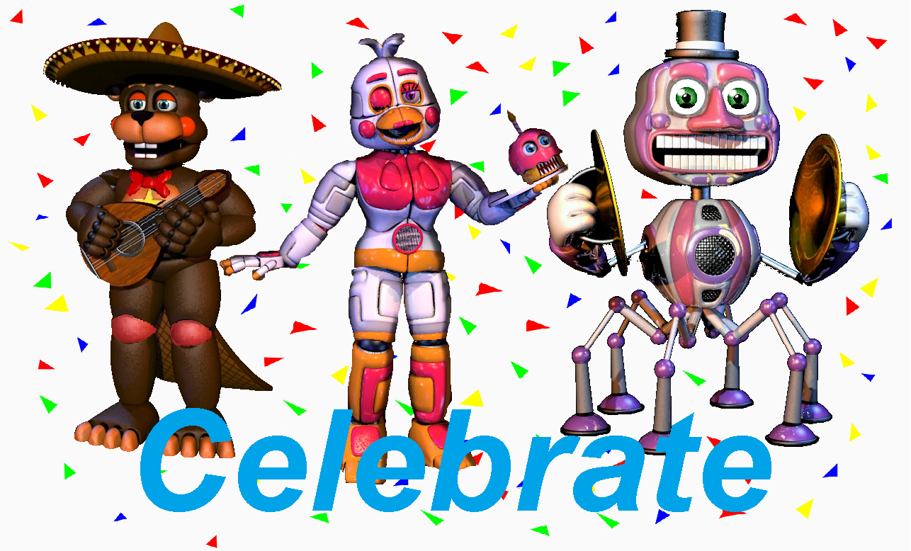 Music Man Five Nights At Funtime Chica Five Nights At Freddys