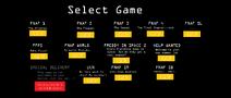 Select game screen