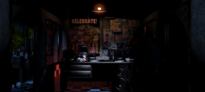 Springtrap Left Side Office