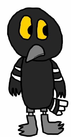 Fly crow