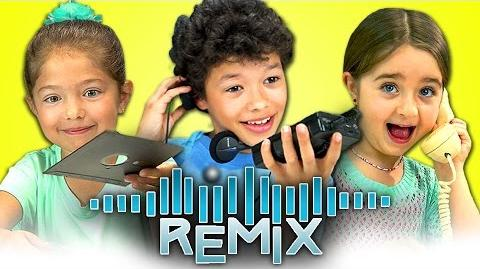REACT REMIX - Old Computers, Walkmans, Rotary Phones