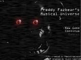 Freddy Fazbear's Musical Universe 1