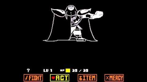 (UNDERTALE SPOILERS)(Mashup) Unknown from ASGORE