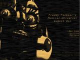 Freddy Fazbear's Musical Universe: August DLC