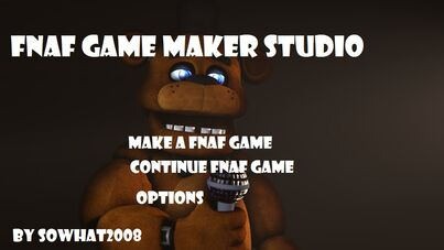 FNaF Game Maker Studio | Five Nights at Freddy's Fanon Wiki