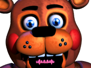 Toy freddy jumpscare