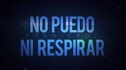 No puedo ni respirar - Fran Cruz Canción original para FNAFHS