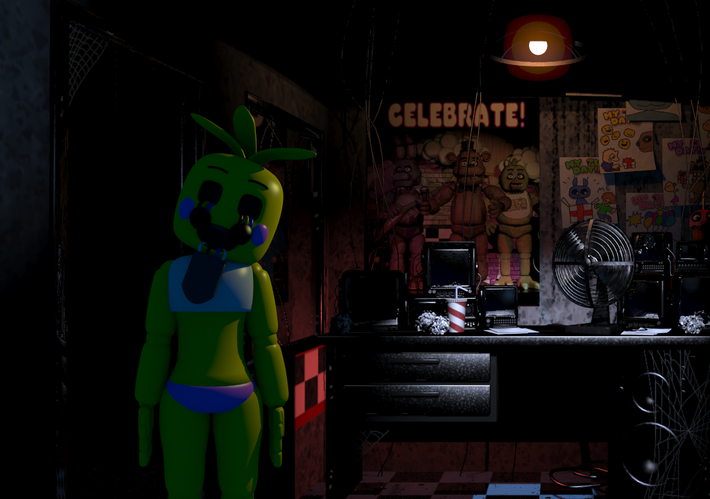Toy Chica | Five nights at freddy's : Offline (Fan-made game