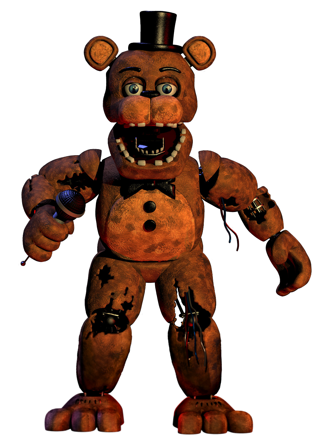 image w freddy render full body png five nights at freddy s