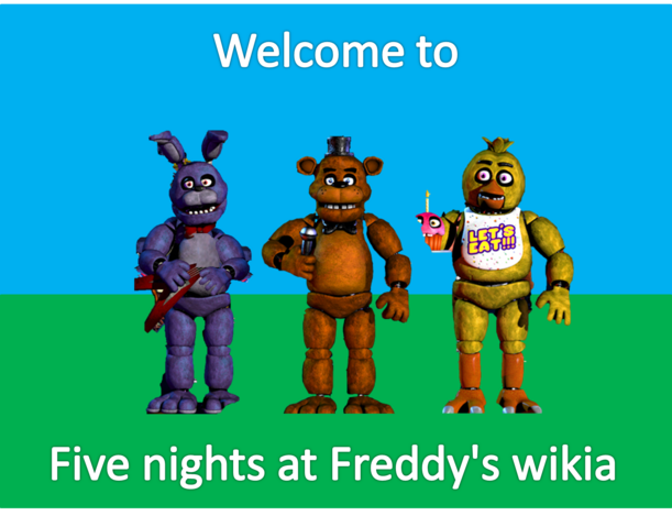 File:Welcome to fnaf wikia.png