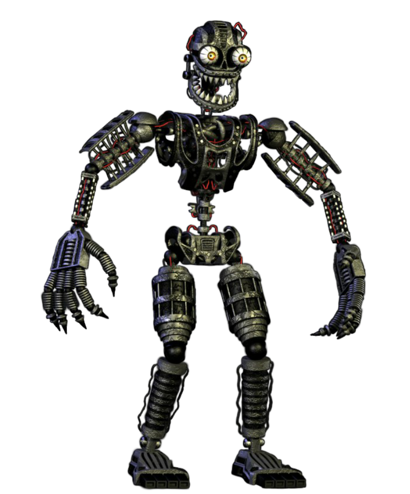 Image nightmare endoskeletong five nights at freddys wikia nightmare endoskeletong sciox Choice Image