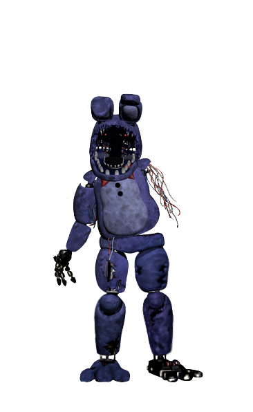image withered bonnie full body thank you image png five nights